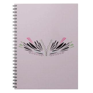Angel painted wings notebooks