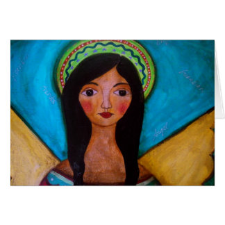 ANGEL PAINTING NOTECARDS CARD