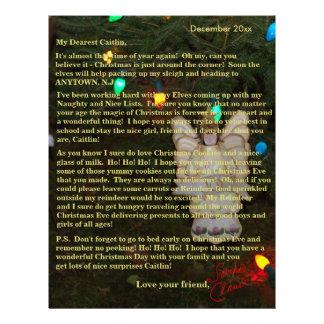 Angel Personalized Letter from Santa Letterhead