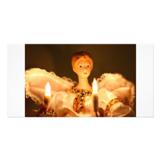 Angel Customized Photo Card