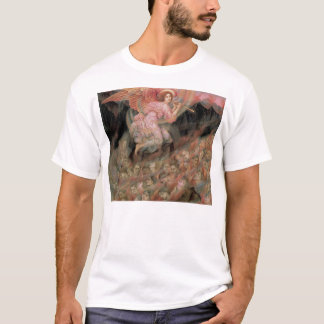 Angel Piping to Souls in Hell by Evelyn De Morgan T-Shirt