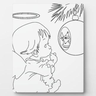 angel plaque