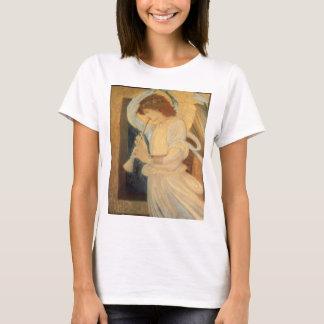 Angel Playing Flageolet By Burne Jones T-Shirt