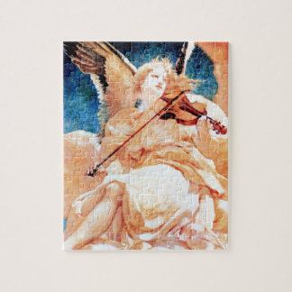 Angel Playing Violin painting Puzzle