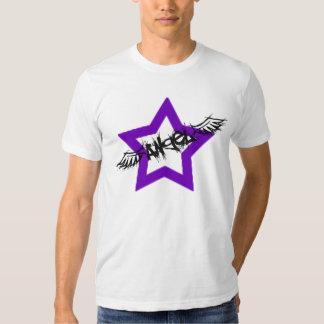 Angel PopShop Logo (Purple) T-shirts