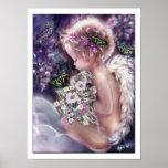 Angel Poster. Heaven's Garden