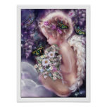 Angel Poster. Heaven's Garden Poster
