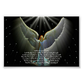 Angel Power Poster