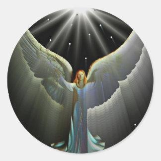 Angel Power Sticker