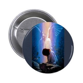 Angel Prayer 2 Inch Round Button