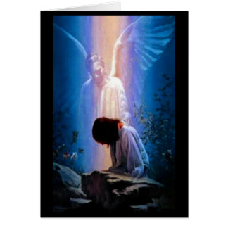 Angel Prayer Greeting Card