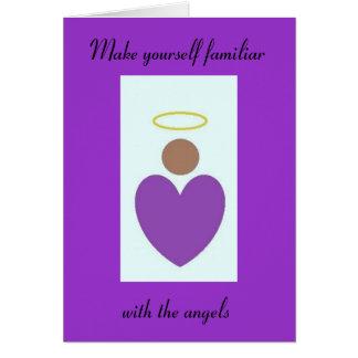 Angel Prayer Note Card