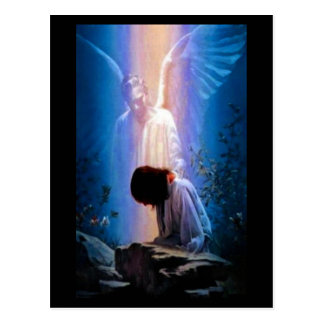 Angel Prayer Postcard
