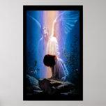 Angel Prayer Poster