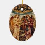 Angel Pre-Raphaelite Christmas Ornament