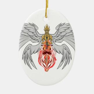 angel_queen_2 ceramic ornament