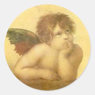 Angel Raphael Vintage Sticker