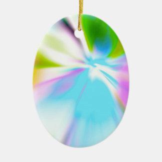 Angel Ray Gabriel Ceramic Oval Ornament