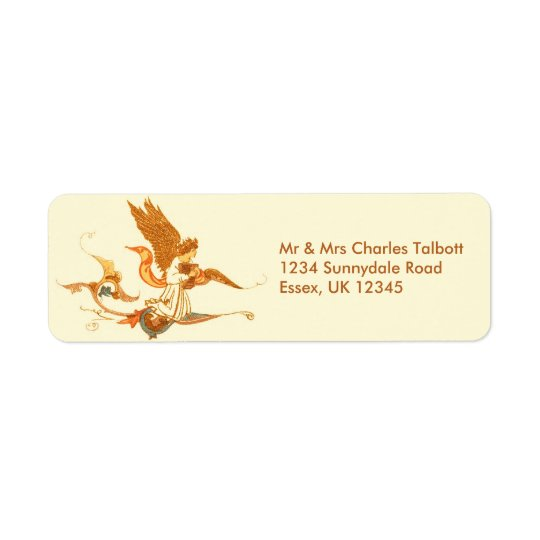 Angel Return Address Labels