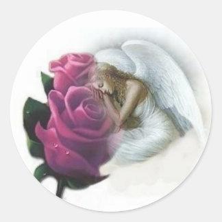 Angel Rose Stickers