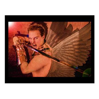 "Angel ""Salvation from the Dark"" Postcard"