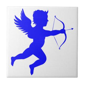 "Angel Small (4.25"" x 4.25"") Ceramic Photo Tile"