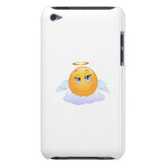 Angel smiley barely there iPod cases