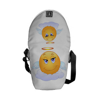 Angel smiley commuter bags
