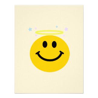 Angel Smiley face Custom Announcement