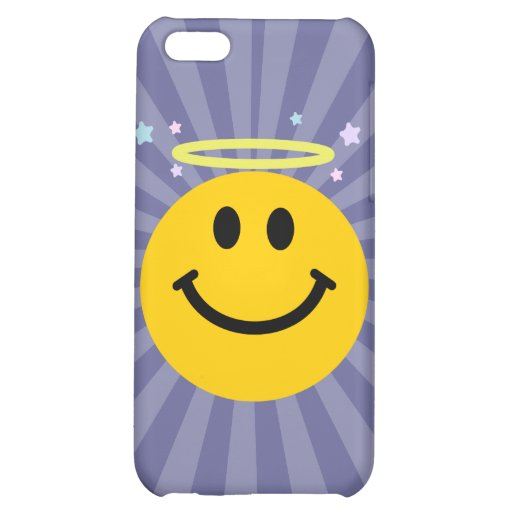 Angel Smiley face iPhone 5C Cases