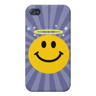 Angel Smiley face iPhone 4/4S Covers