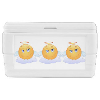 Angel smiley ice chest