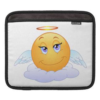 Angel smiley iPad sleeves