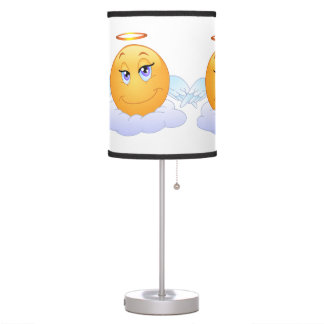 Angel smiley table lamp