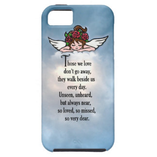 """Angel """"So Loved"""" iPhone 5 Cases"""