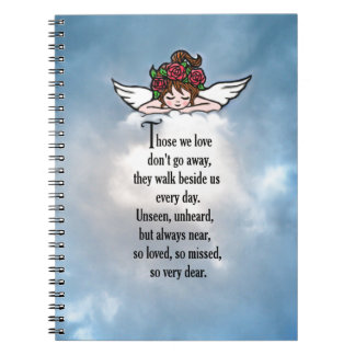 "Angel ""So Loved"" Spiral Note Books"
