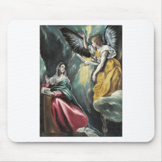 Angel Speaking to Mary Mouse Pad