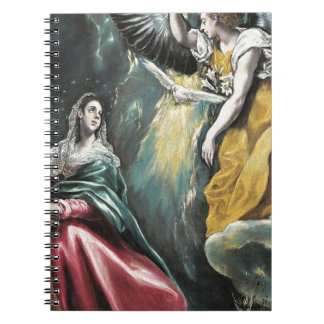Angel Speaking to Mary Notebooks