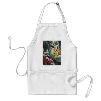 Angel Speaking to Mary Standard Apron