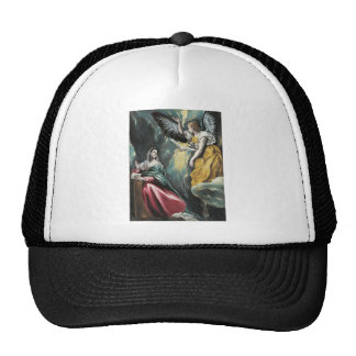 Angel Speaking to Mary Trucker Hat