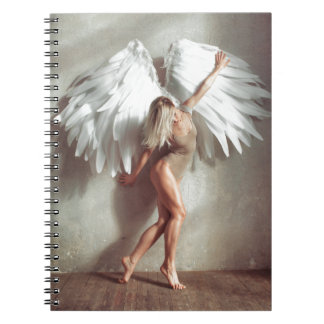 Angel Spiral Note Book