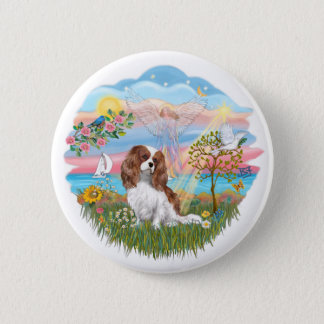 Angel Star - Blenheim Cavalier 2 Inch Round Button