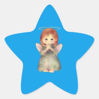 Angel Star Sticker