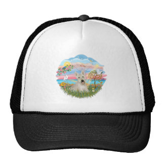 Angel Star -Wheaten Scottish Terrier Trucker Hat