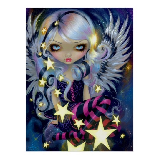 Angel Starlight ART PRINT Jasmine Becket-Griffith