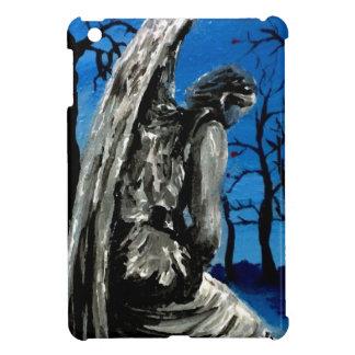 Angel Statue in Winter iPad Mini Cover
