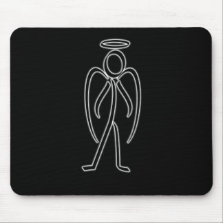 Angel - Stickman Mousepad