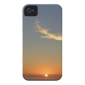 angel sunset iPhone 4 case