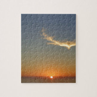 angel sunset jigsaw puzzle