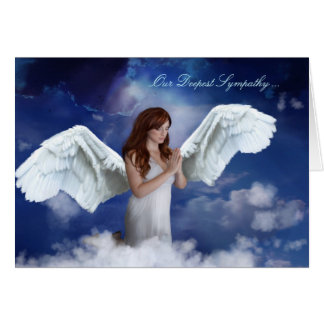 Angel Sympathy Card